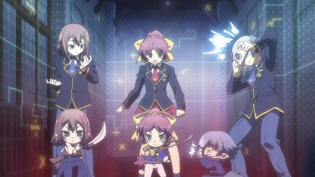 Baka and Test Anime - Introduction to Anime - Comedy and Anime-ism