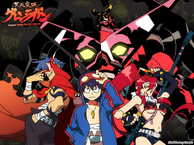 Tengen Toppa Gurren Lagann anime - Introduction to Anime - Over the top action