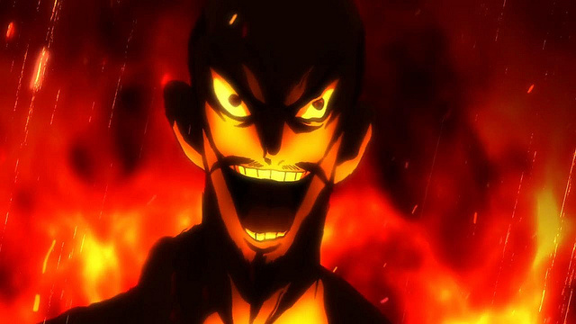 Nobunagun anime episode 1 - Crazy Oda Nobunaga