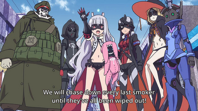 Sekai Seifuku: Bouryaku no Zvezda anime / World Conquest - Zvezda's Plot anime