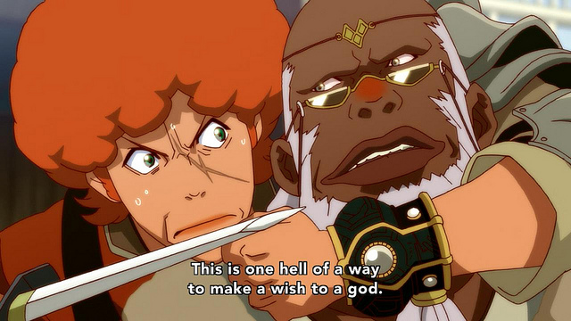 Shingeki no Bahamut: Genesis anime / Rage of Bahamut: Genesis anime