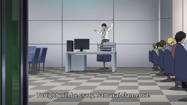 Samurai Flamenco anime
