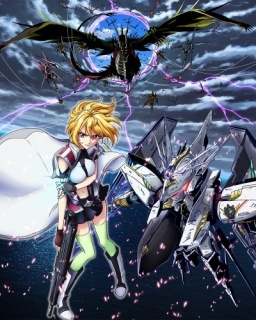 Cross Ange:  Tenshi to Ryuu no Rondo / Rondo of Angels and Dragons anime Fall 2014