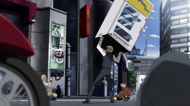 Durarara!! Anime Heiwajima Shizuo vending machine
