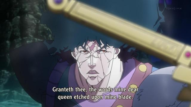 JoJo's Bizarre Adventure anime episode 6