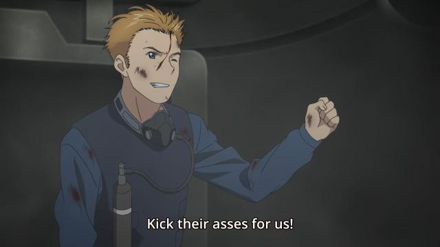 Aldnoah.Zero anime episode 12 notes - Calm Craftman the warmonger