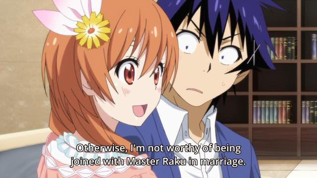 Nisekoi anime review -Tachibana Marika is unworthy of Ichijou Raku