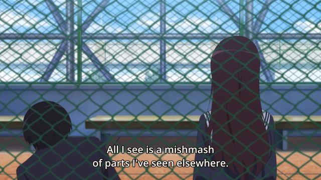 Saenai Heroine no Sodatekata (Saekano) / How to Train a Boring Girlfriend) anime episode 1 overview