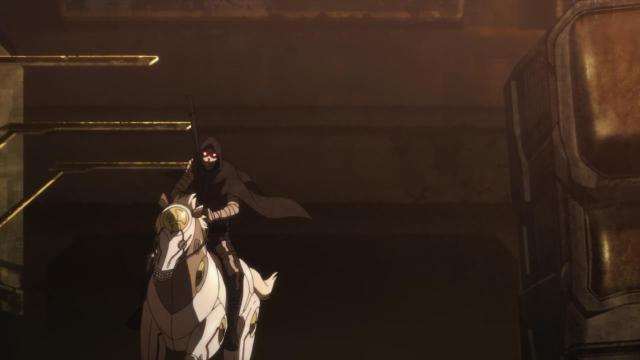 Sword Art Online II anime episode 10 - Death Gun on Death Horse