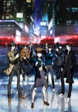 PSYCHO-PASS 2nd season anime Fall 2014