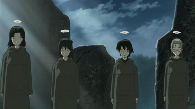 Haibane Renmei anime - Moving on
