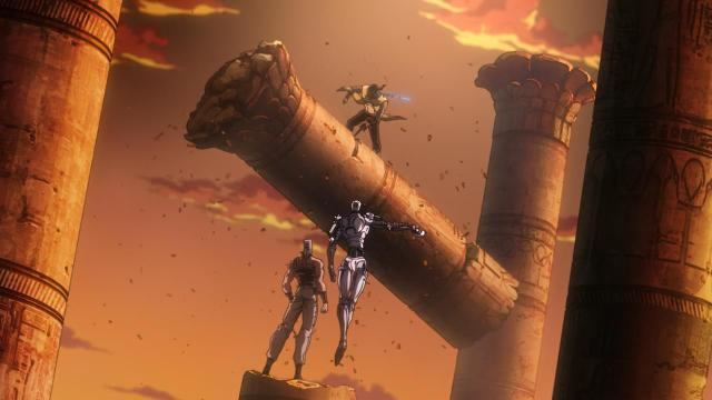 JoJo's Bizarre Adventure - Stardust Crusaders Egypt Arc anime - Winter 2015 Anime Season Overview
