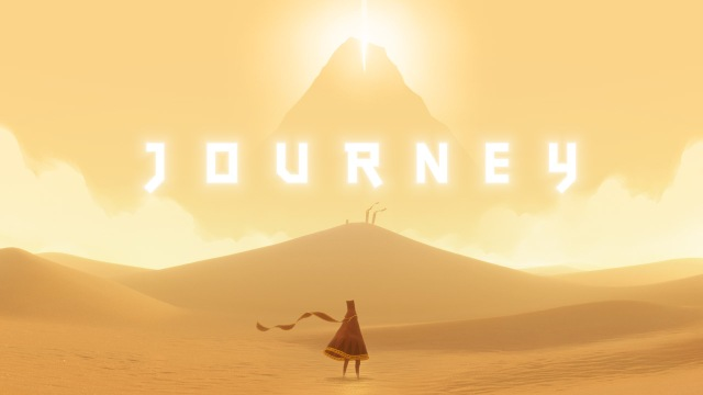 Journey (2012 Video Game) PS3 PS4