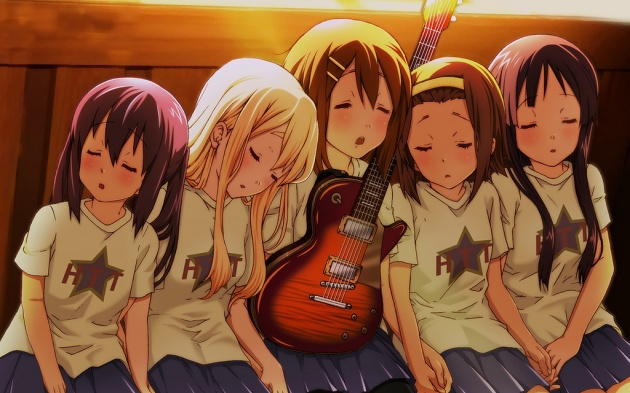 K-On! band members