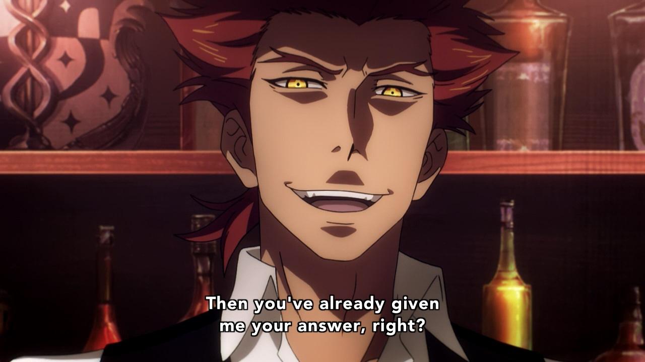 Mask episode 11 2015 - Death Parade Anime Episode 11 Villain Ginti