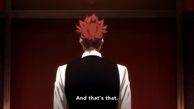 Death Parade anime episode 11 - Ginti says goodbye