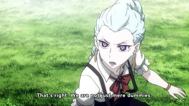Death Parade anime episode 12 notes -  Nona rises against her kind's lot
