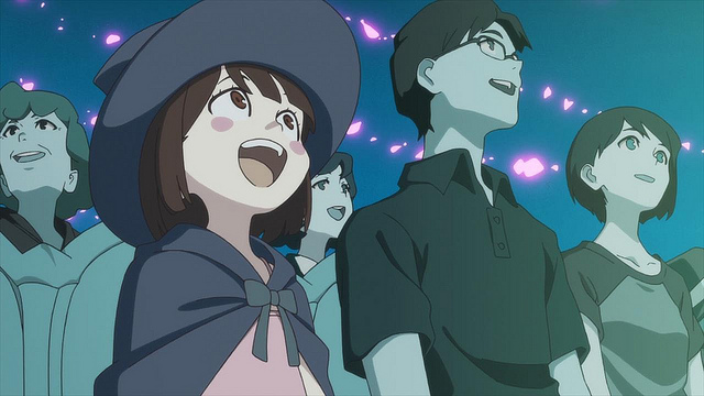 Studio Trigger's Little Witch Academia Episode 1