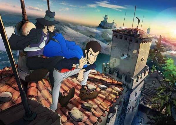 Lupin III 2015 anime Spring 2015