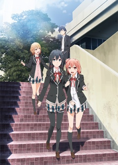 OreGairu Second Season / Yahari Ore no Seishun Love Comedy wa Machigatteiru. Zoku / My Teen Romantic Comedy SNAFU 2 anime Spring 2015
