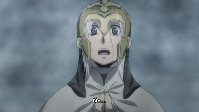 Arslan Senki anime episode 2 - Shocked Arslan