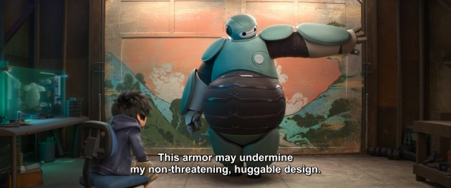 Big Hero 6 - Baymax and Hiro - Non huggable armour