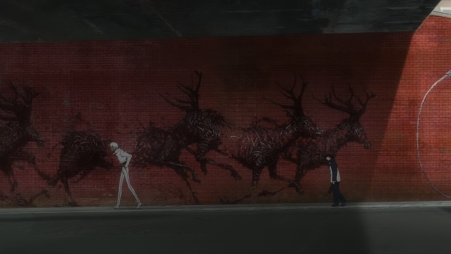 Kekkai Sensen / Blood Blockade Battlefront anime episode 1 - Down to the underworld