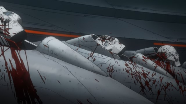 Knights of Sidonia S2 - The Ninth Planet Crusade anime episode 2 - The dead council