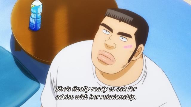 Ore Monogatari!! episode 2 anime - Gouda Takeo is clueless