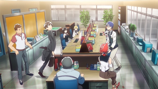 Plastic Memories episode 1 anime notes -Comic timing