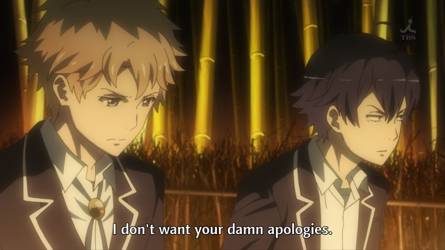 OreGairu S2 episode 2 anime notes - Hikigaya Hachiman doesn't want Hayama Hayato's apology