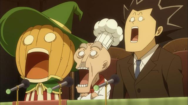 Fairy Tail S2 episode 13 05.17 shocked peanut gallery