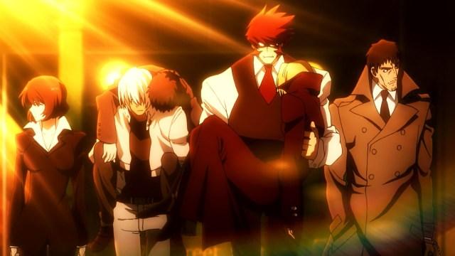 Kekkai Sensen / Blood Blockade Battlefront anime episode 4 - Klaus and the others are too cool