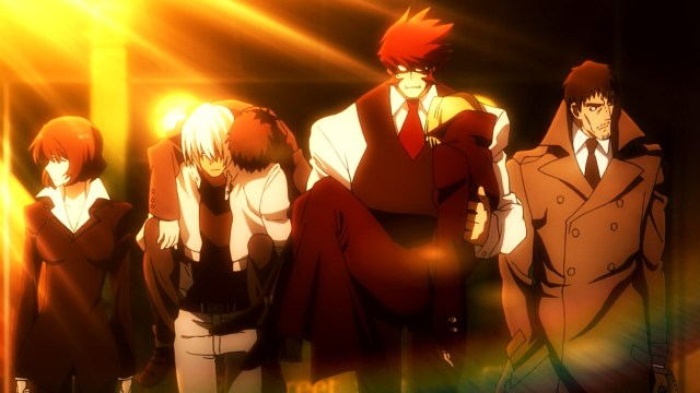 Kekkai Sensen / Blood Blockade Battlefront anime episode 4 - Klaus and the others are too cool