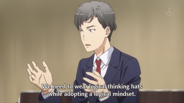 OreGairu S2 episode 6 anime - Tamanawa and his logical hats