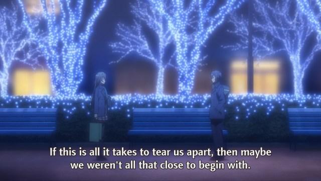 OreGairu S2 episode 7 anime - Yukinoshita Yukino throws Hikigaya Hachiman old words back at him