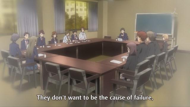 OreGairu S2 episode 8 anime - Hikigaya Hachiman describes people's fear of failure
