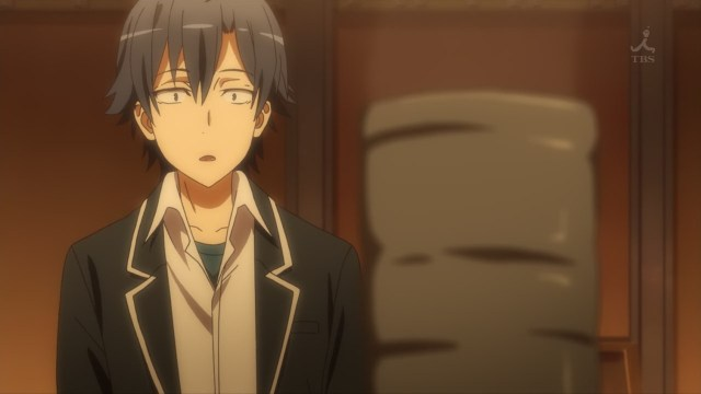 OreGairu S2 episode 10 anime notes - Hikigaya Hachiman receives a token of friendship