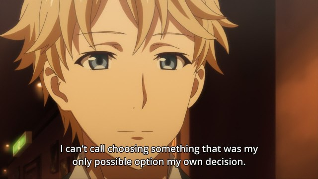OreGairu S2 episode 11 anime notes - Hayama Hayato speaks of choice