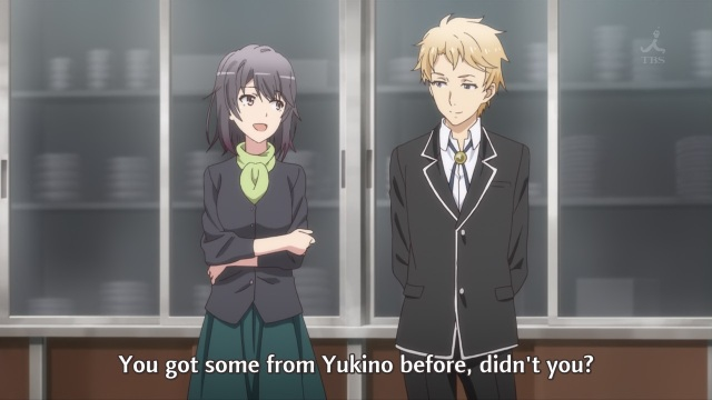 OreGairu S2 episode 12 anime notes - Yukinoshita Haruno tries to stir up trouble by using Hayama Hayato