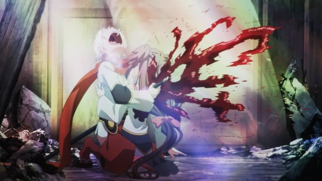 Chaos Dragon anime episode 1 notes - Ibuki kills Mashiro