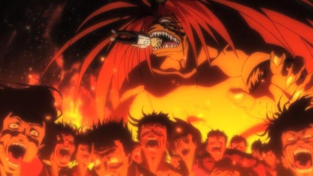 Ushio to Tora anime episode 1 overview - Tora dreams of subjugating humanity