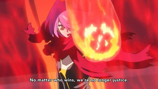 Concrete Revolutio: Choujin Gensou anime Episode 3 notes - Hitoyoshi Jirou knows they fight not for justice