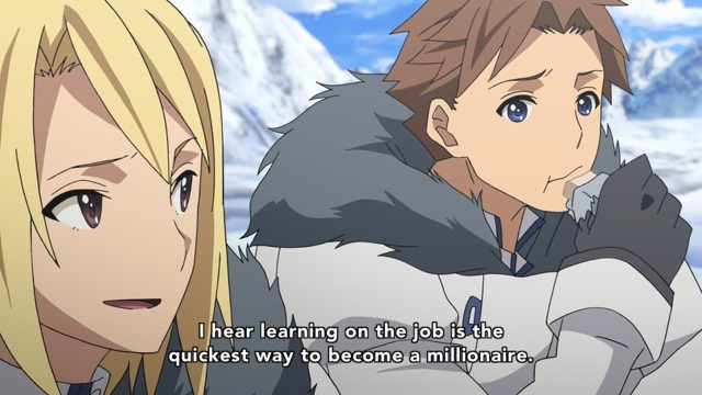 Heavy Object anime Episode 1 notes - Qwenthur Barbotage wants to be rich