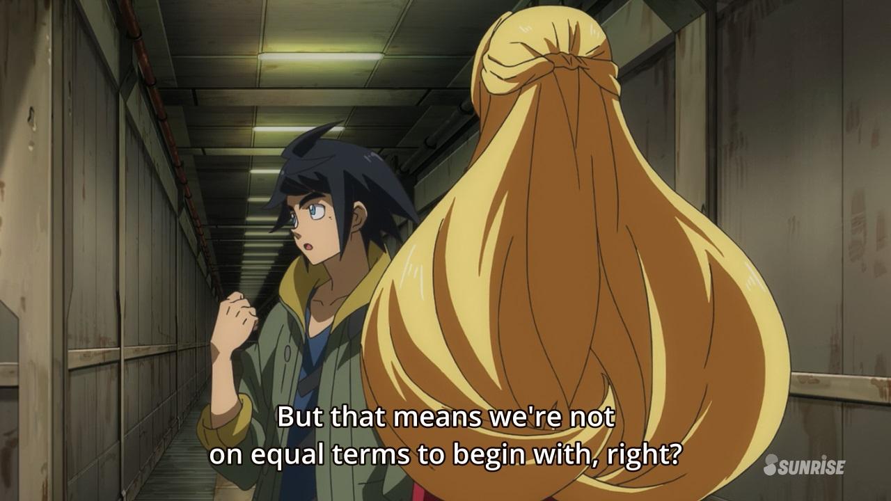 Mobile Suit Gundam Iron-Blooded Orphans anime / Kidou Senshi Gundam ...