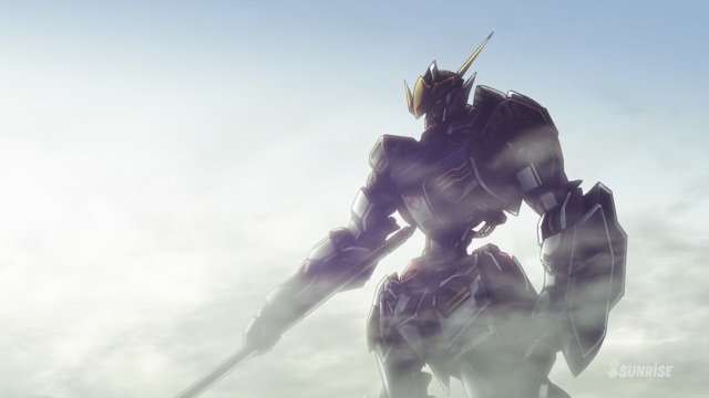 Mobile Suit Gundam Iron-Blooded Orphans anime / Kidou Senshi Gundam: Tekketsu no Orphans anime episode 1 - The Gundam