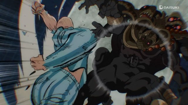 One-Punch Man anime Episode 1 notes - Saitama punches the subterannean