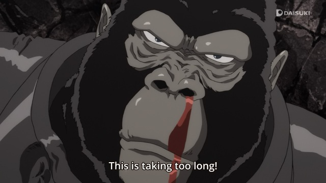 One-Punch Man anime Episode 3 notes - Android Gorilla takes too long