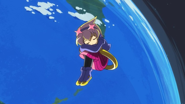 Concrete Revolutio: Choujin Gensou anime Episode - Earth-chan dreams