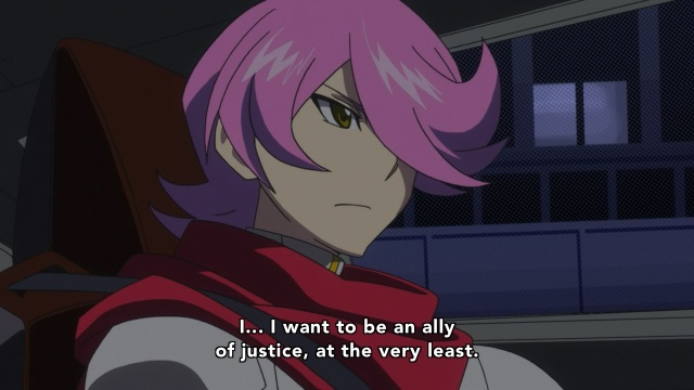 Concrete Revolutio: Choujin Gensou anime Episode 8 notes - Hitoyoshi Jirou wants to be an ally of justice